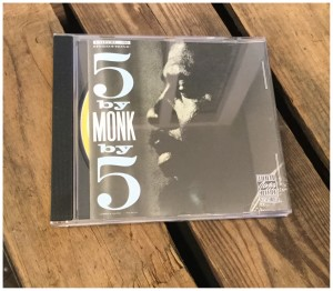 THELONUS MONK QUNET/5 BY MONK BY 5